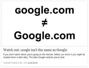 google-not-google