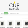Startup Cup & candle picture website