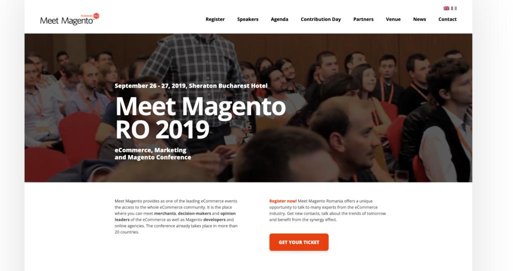 Meet Magento - Romania Cover